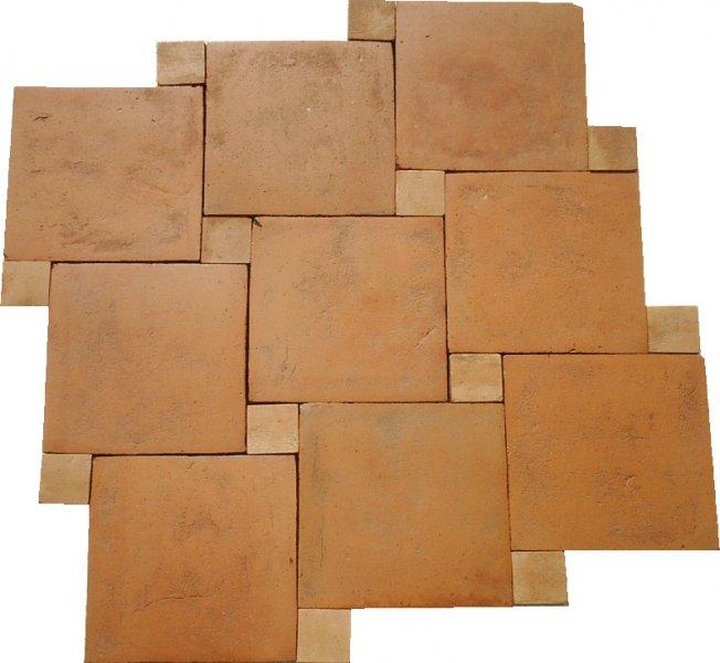 Pak Clay Tiles Industry Lahore Terracotta Flooring Tiles Square