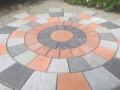 multi-coloured rotunda with compass centre piece