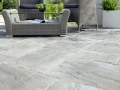 school open-corridor-design-concrete-garden-landscaping-patio-slabs-black-tiles-images