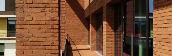 Exterior Wall Cladding Ideas : Brick wall cladding facing tiles ideas for a houses