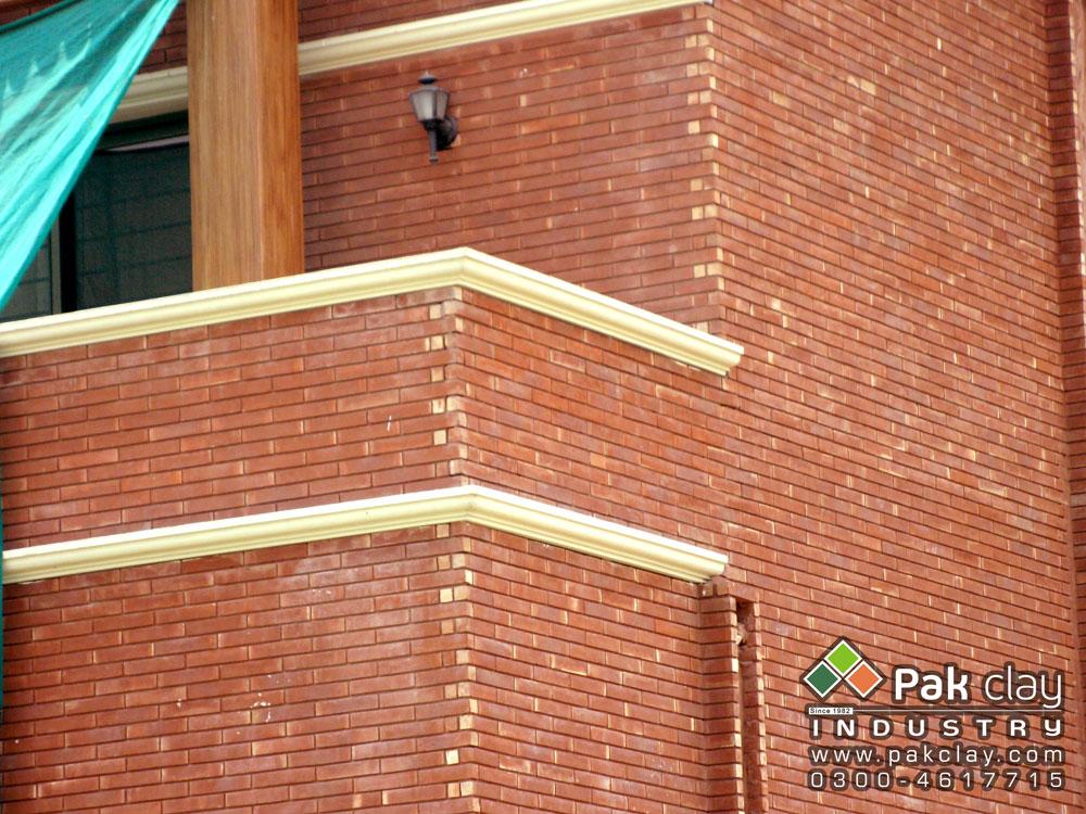 Terracotta Red Bricks Wall Face Tiles In Pakistan
