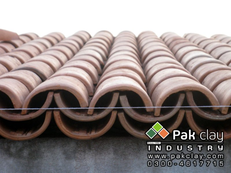 Pak clay roof tiles pakistan best home ceramic khaprail for Buy clay roof tiles online