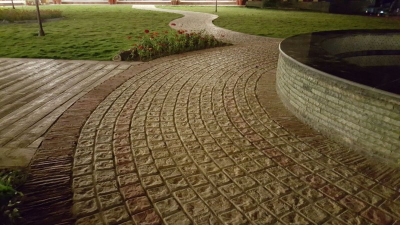 Pak Clay Tiles Industry Lahore Circle Paving Tile Pattern Ideas Style And Ins