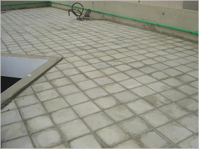 Cool Roofing Insulation Gray Concrete Color Tiles Images