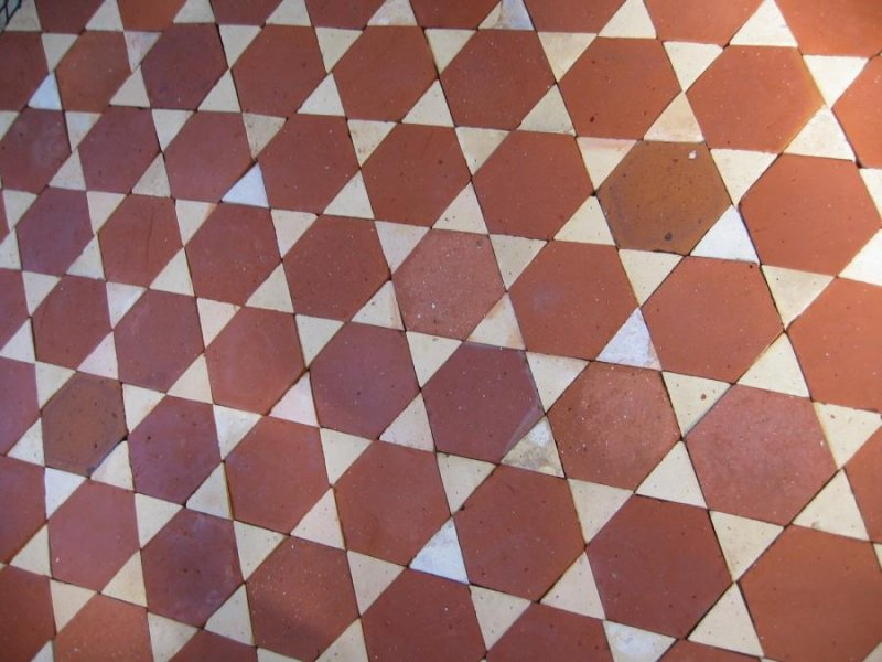 Handmade terracotta bricks floor pavers tiles design for Carrelage terre cuite rouge