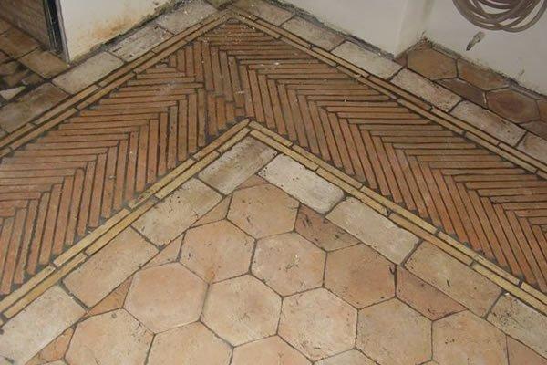 Handmade Terracotta Bricks Floor Pavers Tiles Design