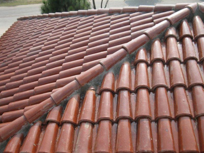 Spanish glazed tile 11 pak clay roof tiles pakistan for Spanish clay tile