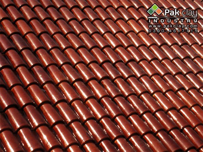 Spanish Glazed Tile 9 Pak Clay Roof Tiles Pakistan