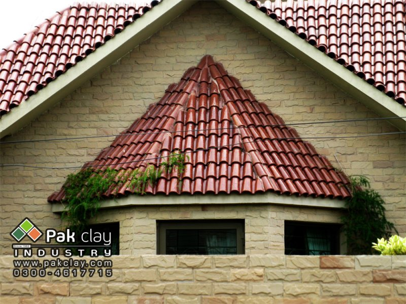 Spanish glazed clay terracotta bricks roofing tiles pakistan for Spanish clay tile roof