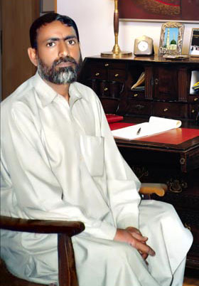 Chairman of PCI Muammad Riaz