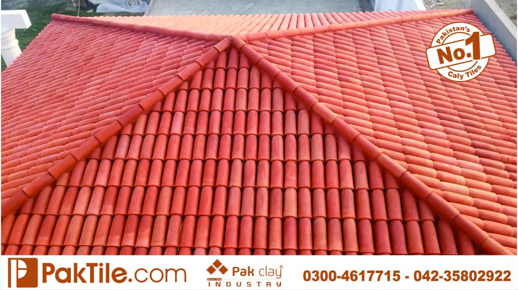 05 Pak clay terracotta roofing tiles khaprail tiles rates manufacturer in pakistan images