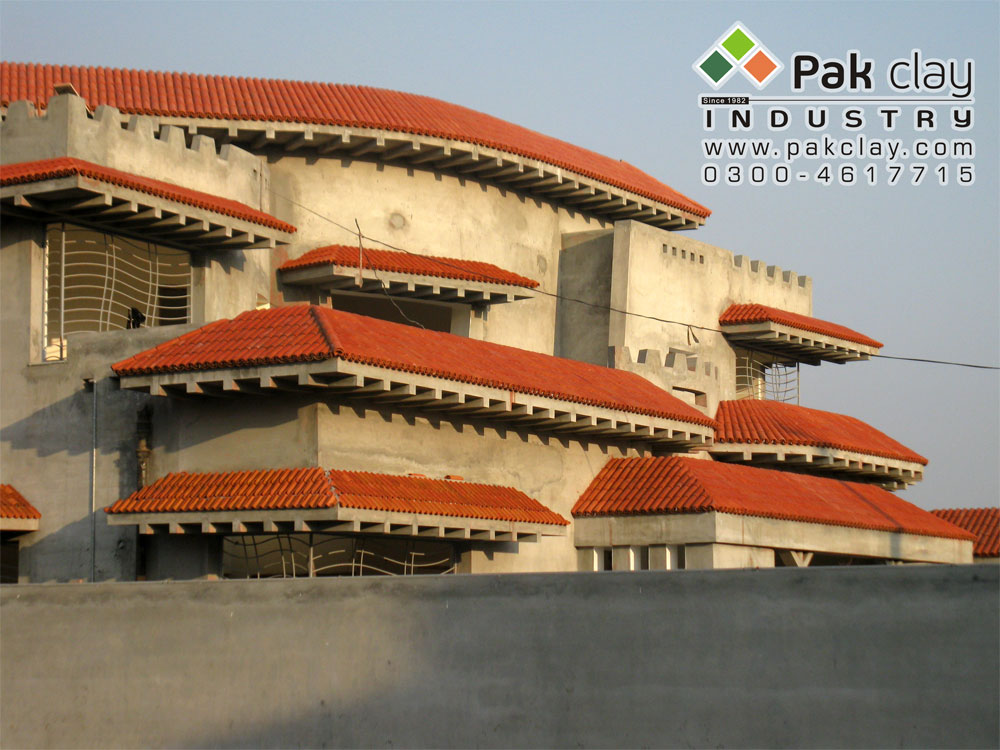 25 Pak clay roof materials khaprail design house terracotta roofing tiles rates in karachi images