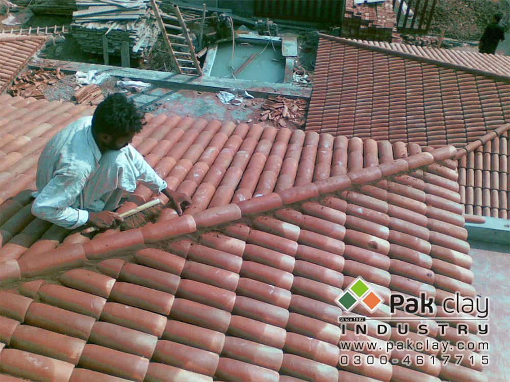 Barrel Murlee Tiles 11 Pak Clay Roof Tiles