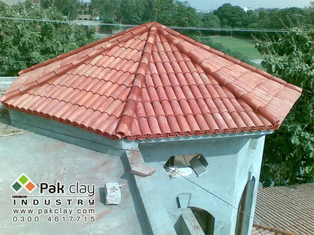 34 Pak clay gas bricks tiles terracotta roof tiles design concrete tile roof repair cost pakistan images
