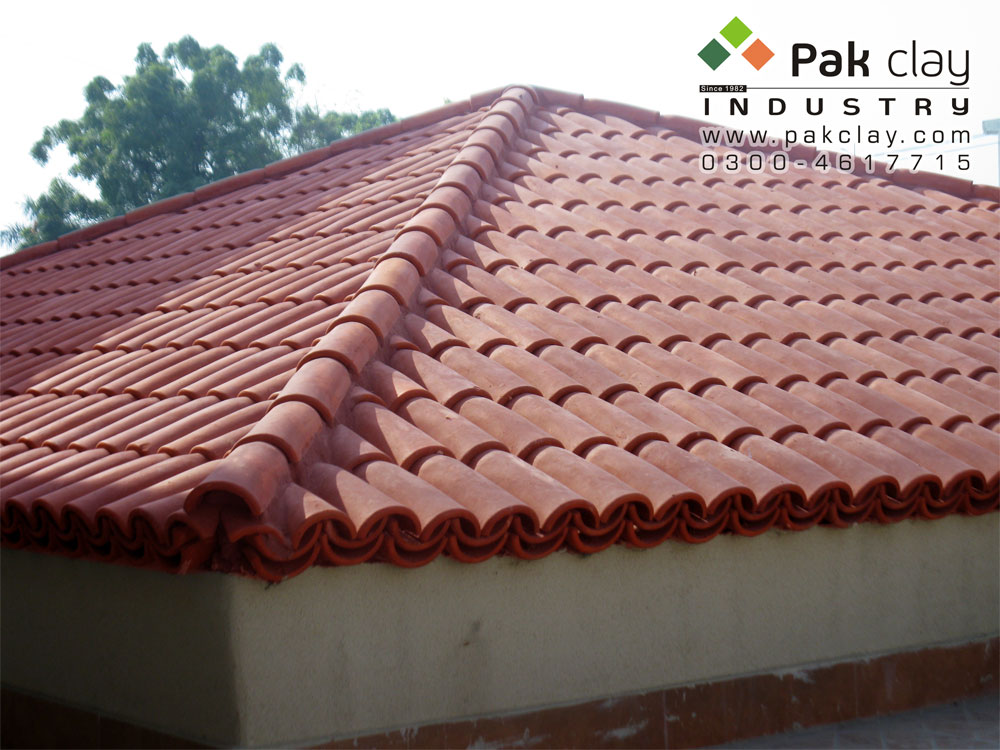 4 Pak clay ceramic roof tiles concrete roof tiles clay tiles lahore my shop available images
