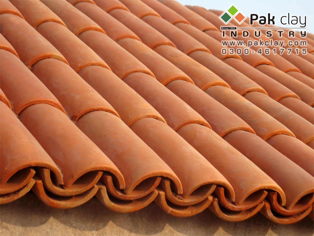 8 Pak Clay Industry Roof Shingles Design Khaprail Tiles Manufacturer in Karachi Pakistan images