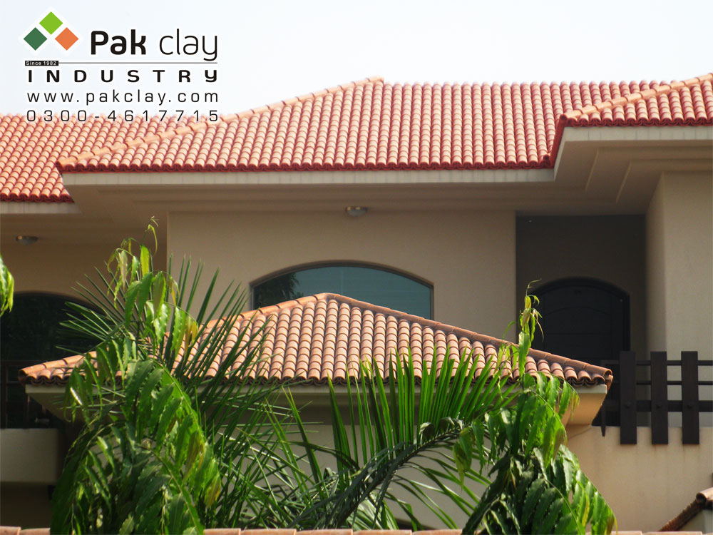 Barrel Red Clay Roof Tiles
