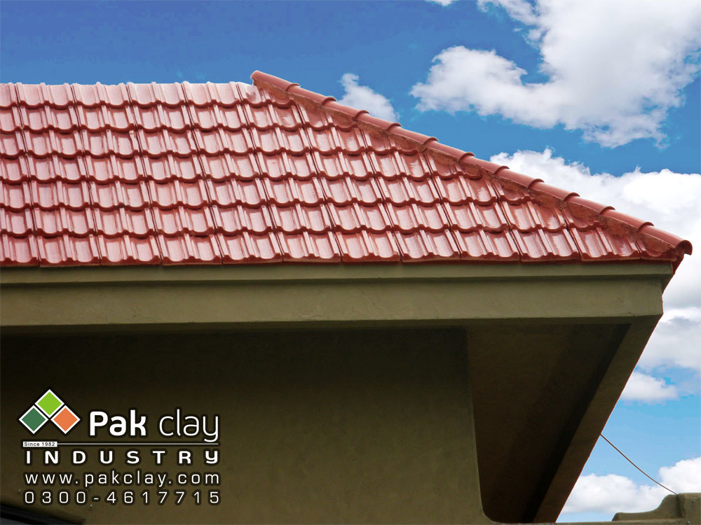 Pak clay tiles terracotta red clay roof tiles in lahore for Spanish clay tile roof