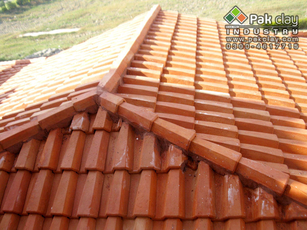 Pak clay tiles terracotta red clay roof tiles in lahore for Buy clay roof tiles online
