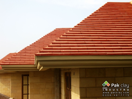 Khaprail tiles sloped roofing houses tiles design detail for Buy clay roof tiles online