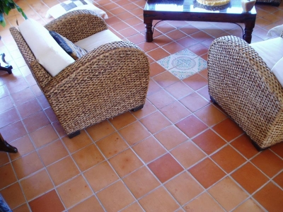 Terracotta Floor Tiles Designs for living room Style Pictures Ideas