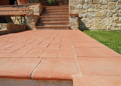 Terracotta Tiles Stairs Manufacturers Designs Ideas