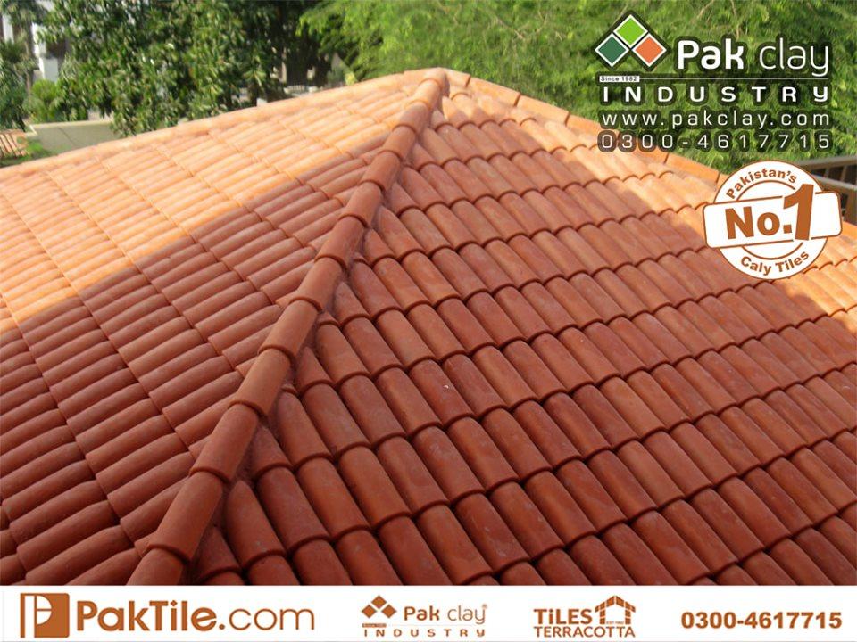 1 Pak Clay Industry Khaprail Roof Tiles Designs in Pakistan