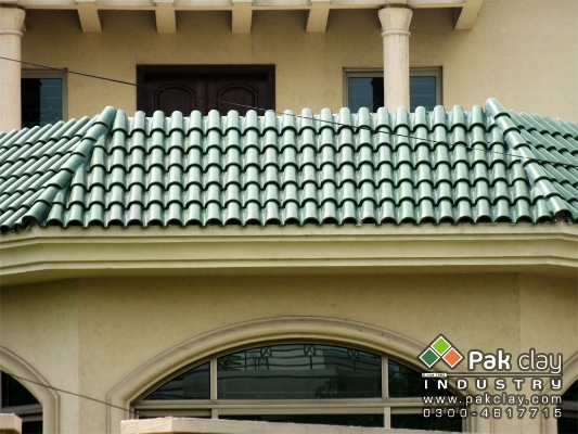 Red clay khaprail tiles roof sizes design ideas pictures for Buy clay roof tiles online