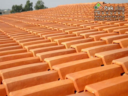 Clay Roofing & Flooring Tiles Market Prices in Pakistan.