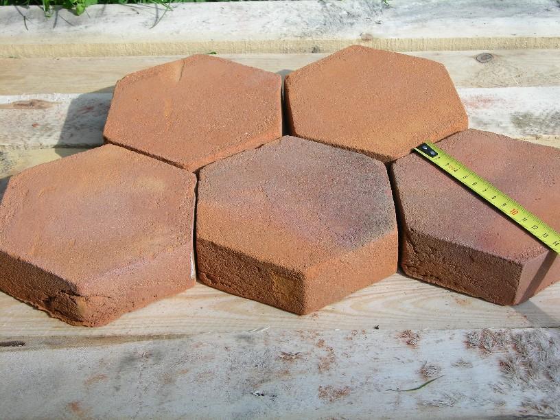 Hexagon terracotta floor tiles pictures Home Designs Photos images