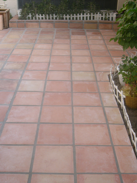 Red Floor Tiles Square Pictures 12x12