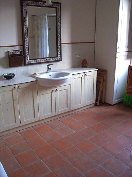 Terracotta Bathroom Floor Tiles. Lastest Spanish Handmade Terracotta Tile Mediterranean Wall And Floor Tile