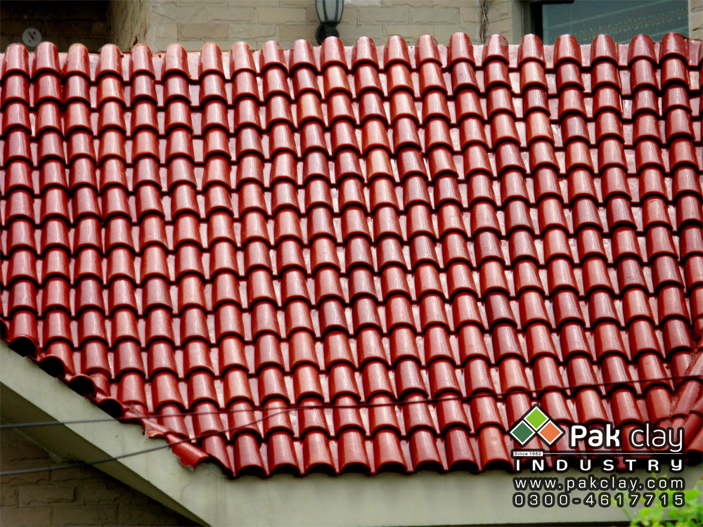 Pak Clay Industry Clay Tiles Flooring and Roofing Heat Insulation Tiles Exports