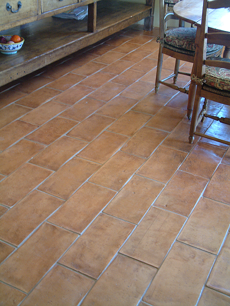 Porcelain Tiles Vs Terracotta Floor And Wall
