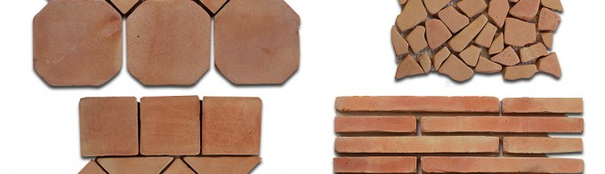 Buy Online Red Brick Floor and Walls Tiles for Sale
