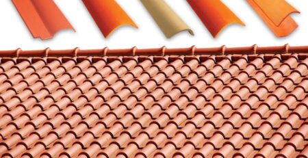 Terracotta Roof Tiles Natural Khaprail Tiles