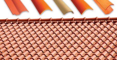 Terracotta Roof Tiles Natural Khaprail Tiles