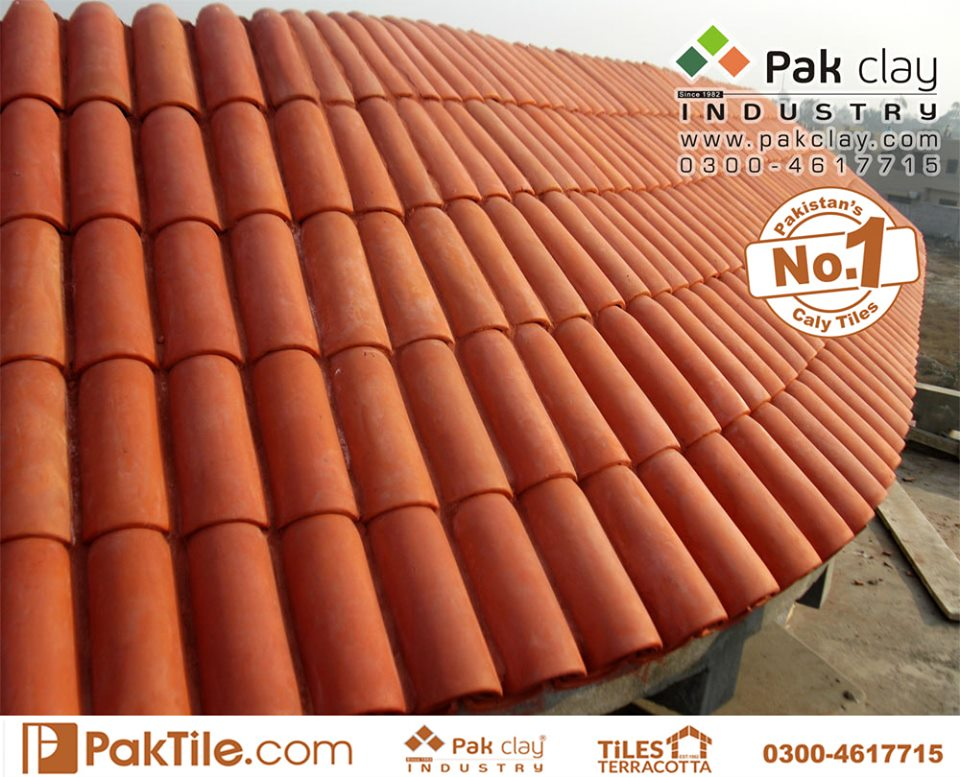 1 Pak Clay Industry Clay Roof Tiles in Pakistan Images.