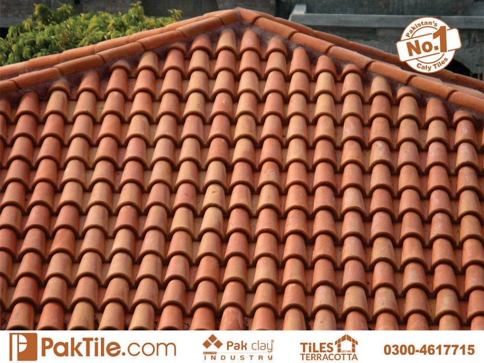 3 Pak Clay Industry Clay Roof Tiles in Pakistan Images.