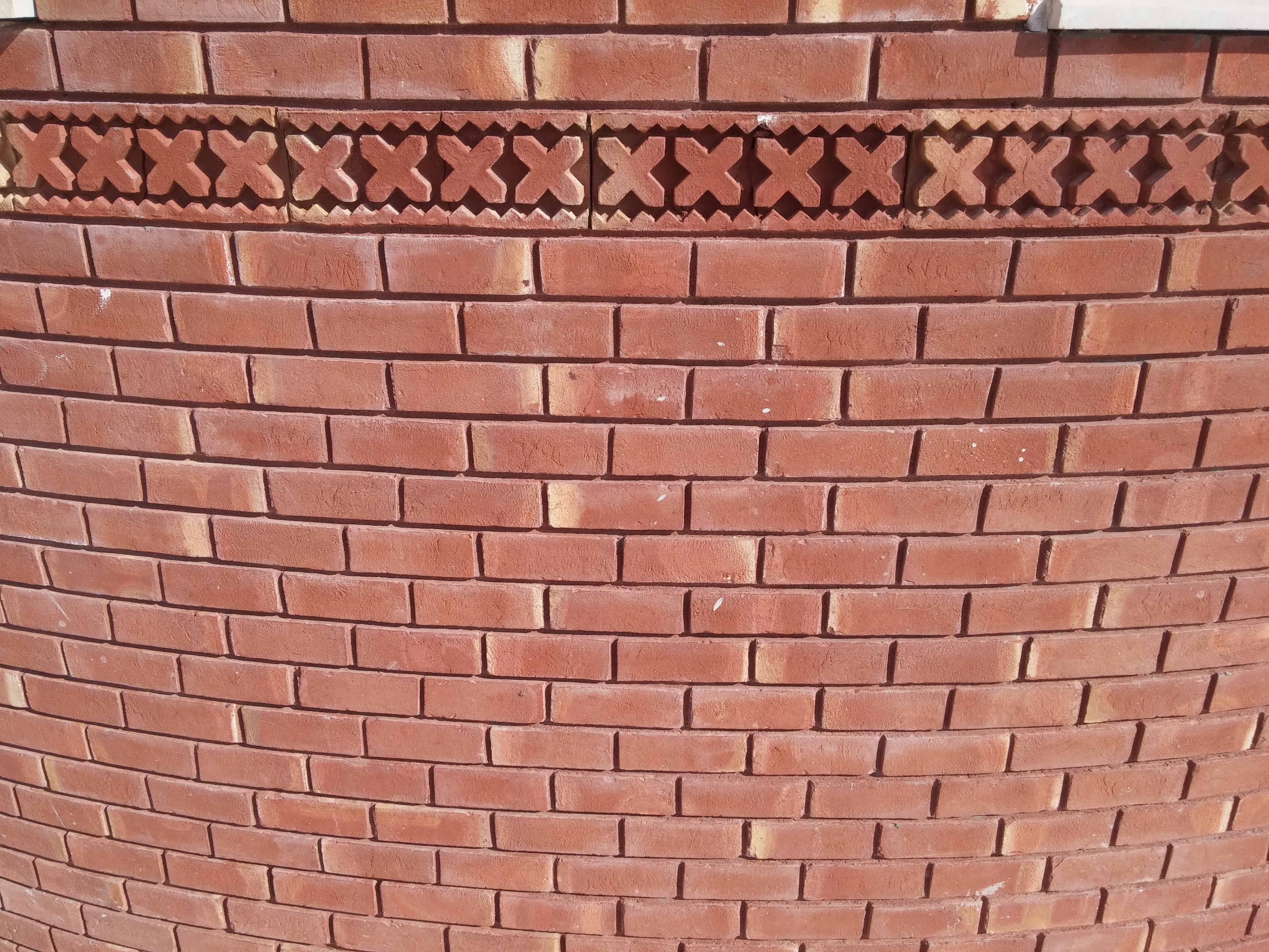 Red Gutka Wall Face Tiles Pictures Houses Design Size Rate