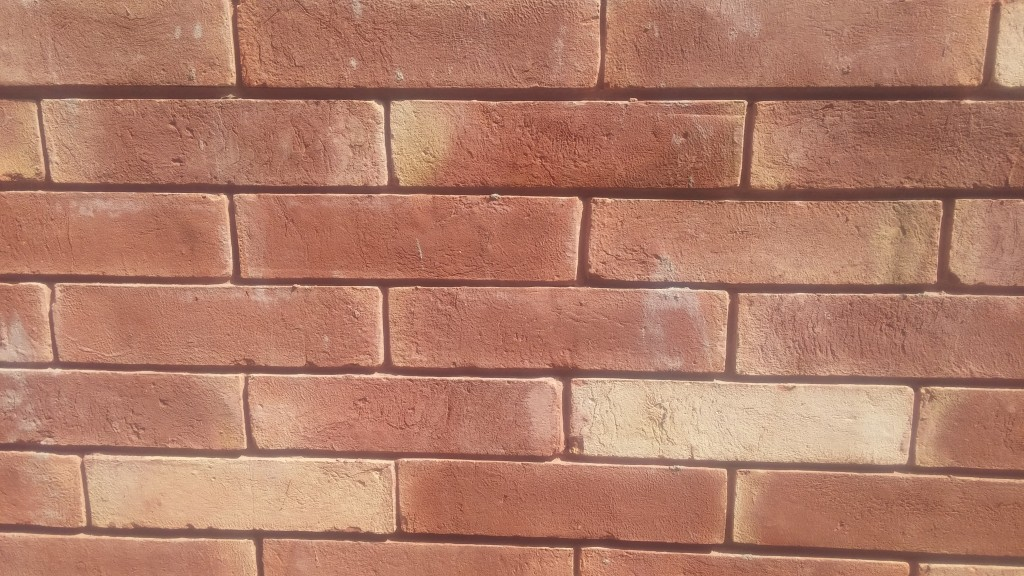 Red gutka wall face tiles pictures houses design size rate for Tiles for balcony walls