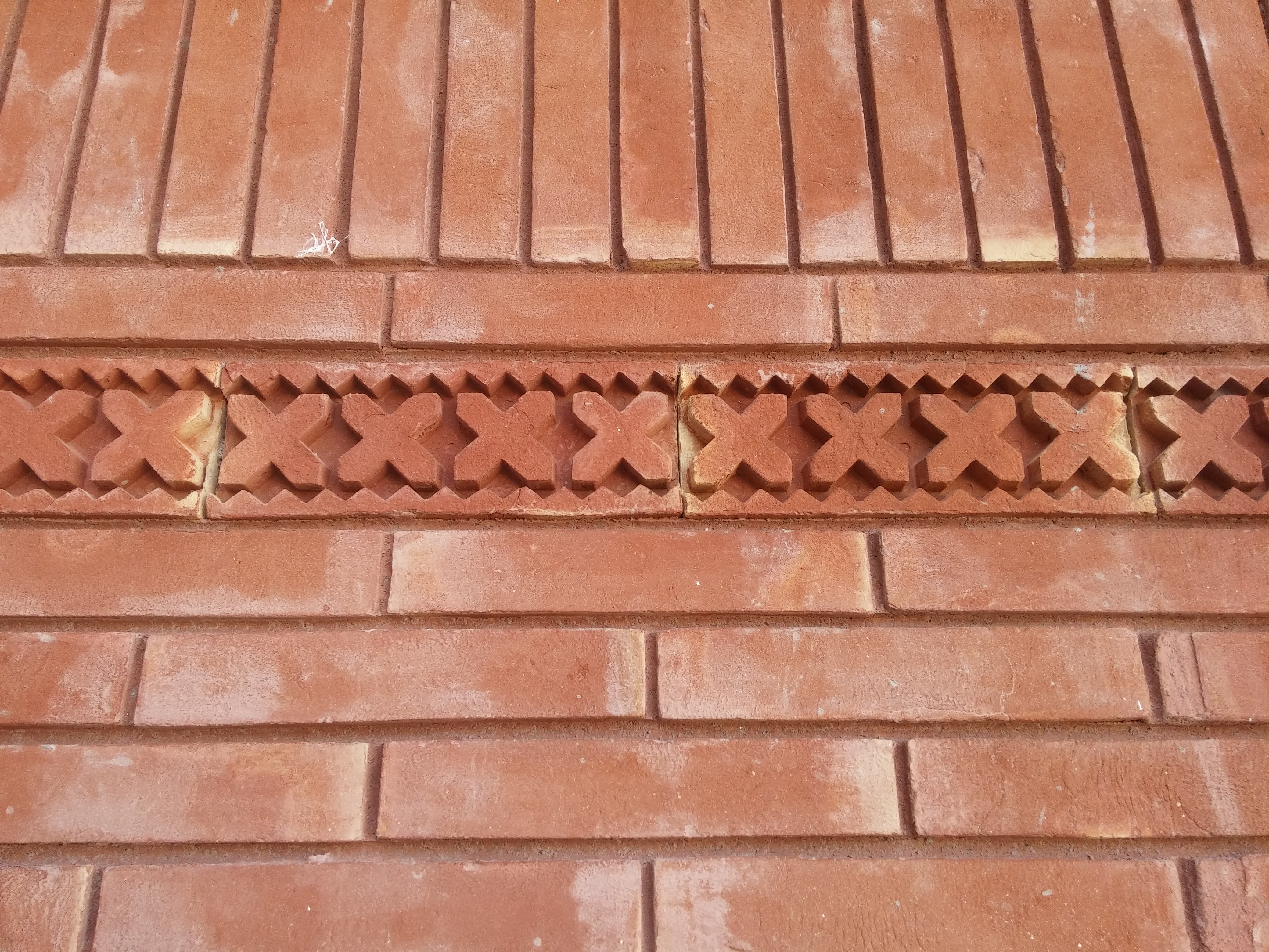 Red Gutka Wall Face Tiles Houses Design Size Rate in Lahore