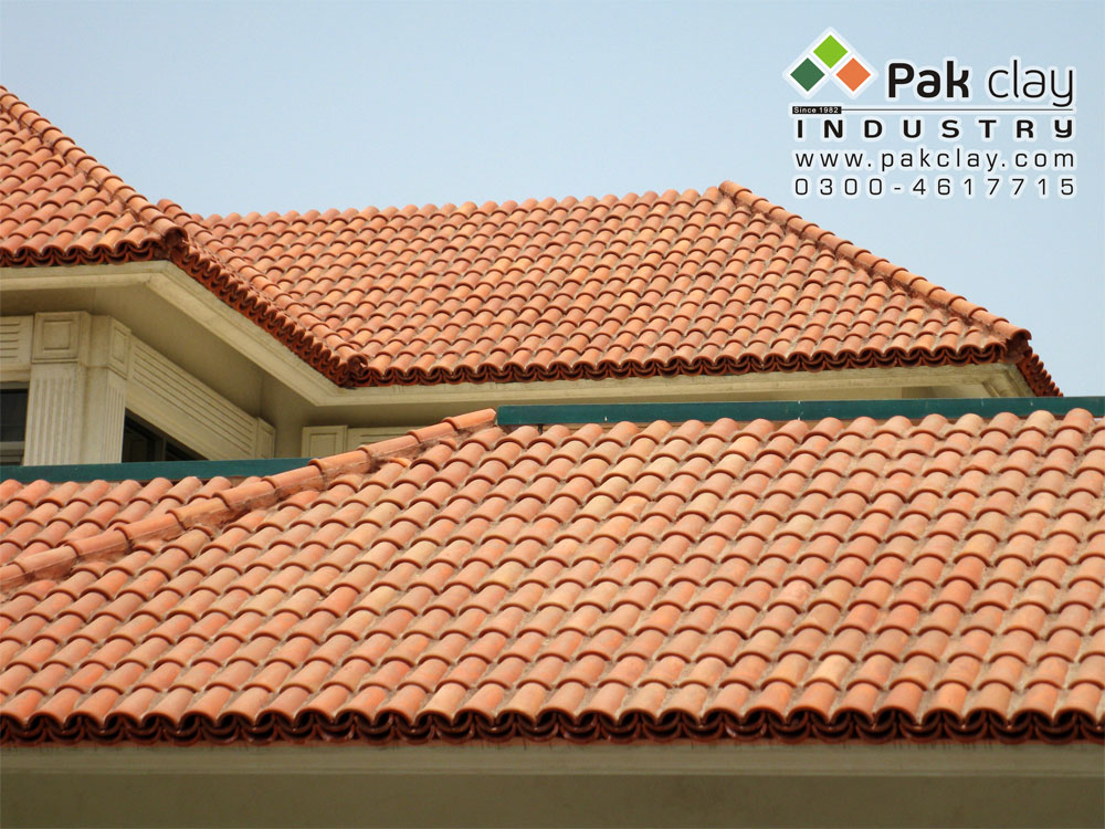 Red clay roof tile texture pictures in lahore pakistan for Clay tile roof