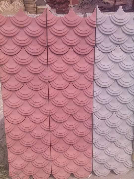 1 Pak Clay Tiles Industry Cement Khaprail Design Images (4)