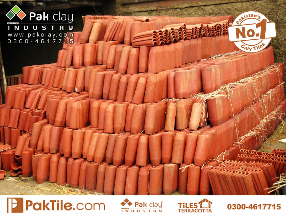 4 Pak clay buy beautiful marble natural red brick colour round roof insulation shingles khaprail tiles price pattern home car porch design slope shed canopy images in lahore gt road kpk