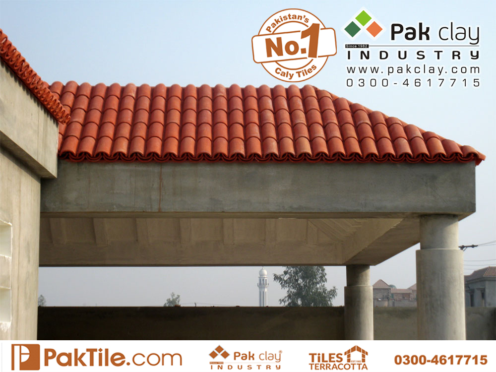 7 Pak clay industry car porch home concrete roof khaprail shingles tiles house front designing ideas pictures colours tiles textures factory shop near me bahwalpur multan kpk sadiqabad images