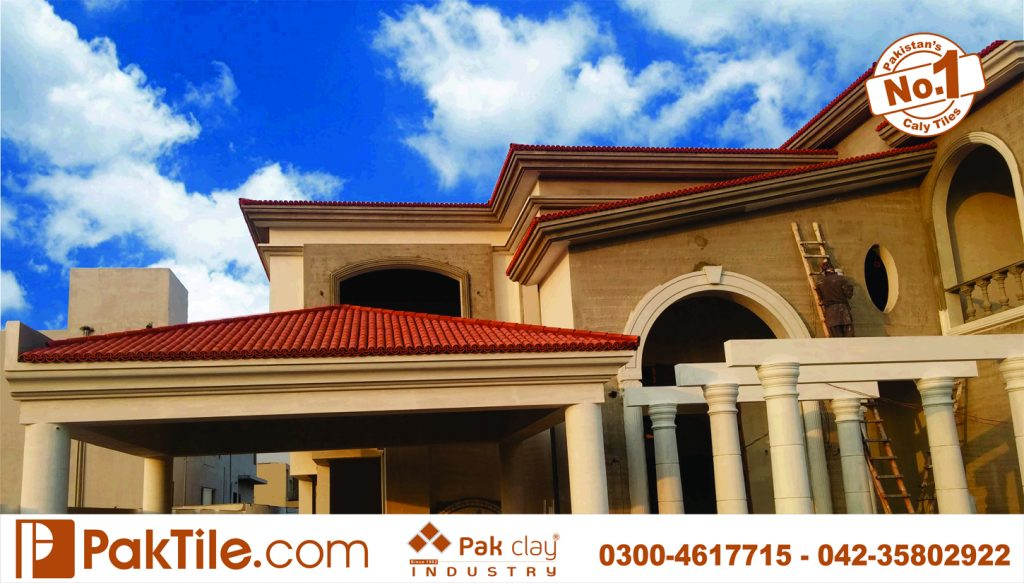 Home outdoor front elevation design best khaprail textures clay roofing porcelain look ceramic red barrel tiles terracotta shingles product factory shop price images dha lahore
