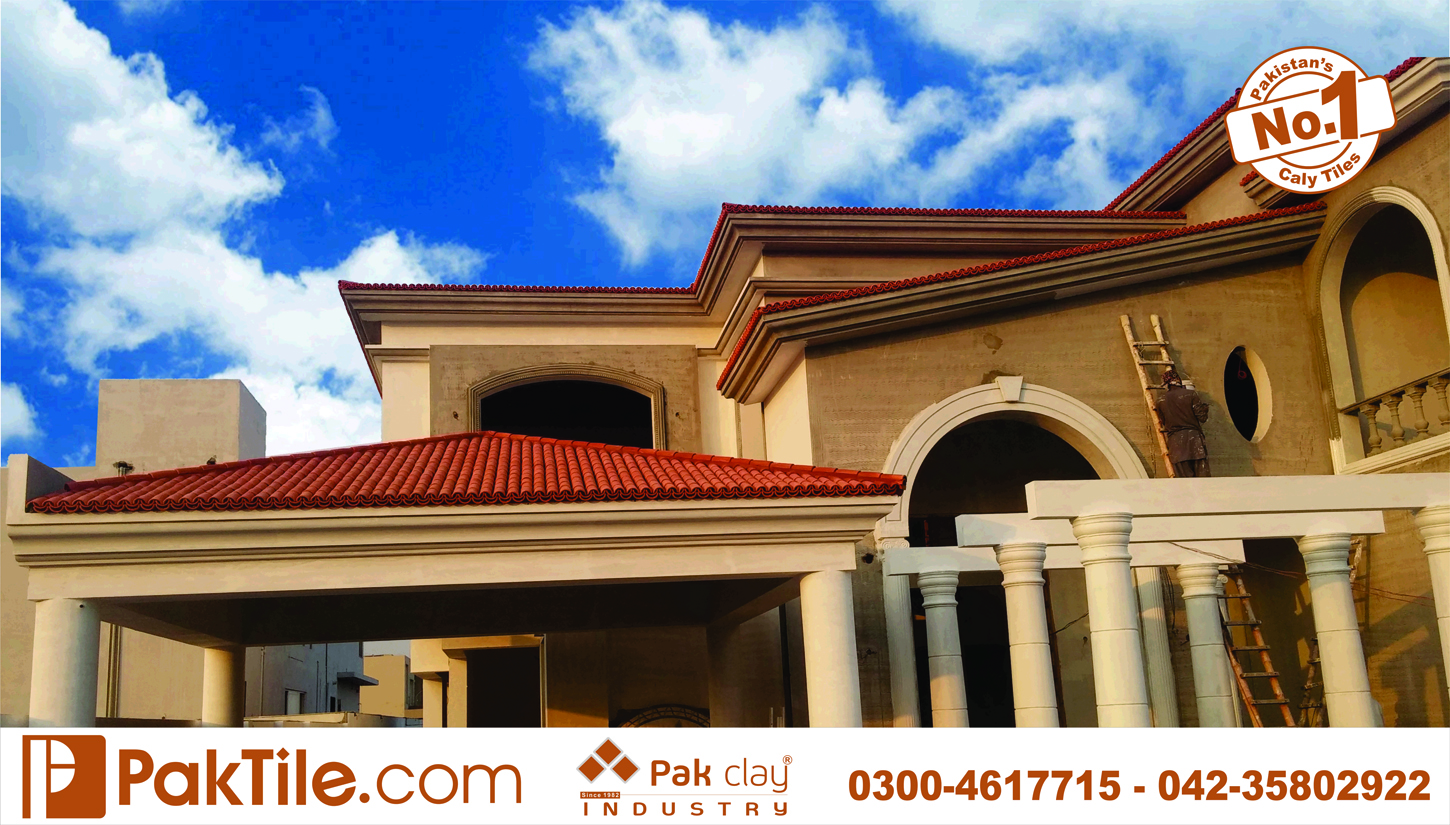 Front Elevation Tiles For Home : Pak clay roof tiles prices in pakistan