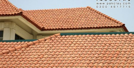 Pak Clay Best Quality Low Prices Terracotta Ceramic Bricks Khaprail Slope Shed Roof Tiles Home Front Elevation Design Manufacturer Shop in Karachi Islamabad Rawalpindi Lahore Pakistan Images