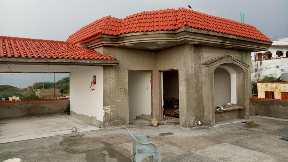 Pak Clay Tiles Industry Cement Khaprail Design Images (1)